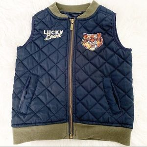 LUCKY BRAND Toddler 2T Quilted Puffer Vest